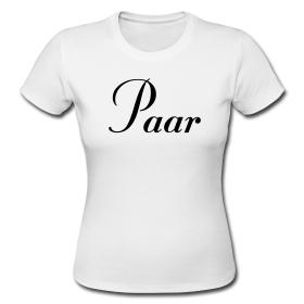 T-Shirts für Traumpaare
