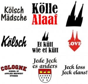 T-Shirts für den Kölner Karneval