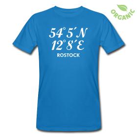 Rostock Koordinaten T-Shirt
