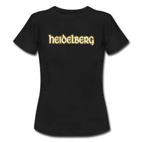 Heidelberg T-Shirt Antik Outline