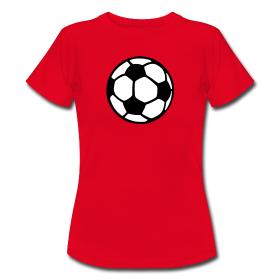 Frauen Fußball T-Shirt