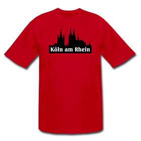 T-Shirts aus Köln am Rhein