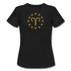 """Sternzeichen T-Shirt """"Widder"""""""