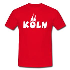 Köln T-Shirts mit dem Kölner Dom