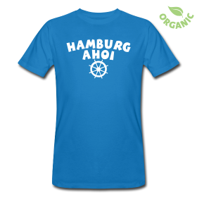 Hamburg Ahoi Steuermann T-Shirts