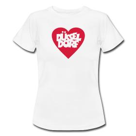 Düsseldorf T-Shirts mit Herz