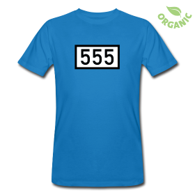 Bio T-Shirts mit dem Rheinkilometer 555