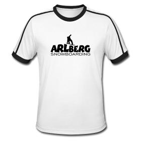 Arlberg T-Shirts für Snowboarder