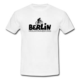 Berlin T-Shirts für Mountainbiker und Fahrradfahrer