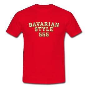 Bayern T-Shirts Bavarian Style