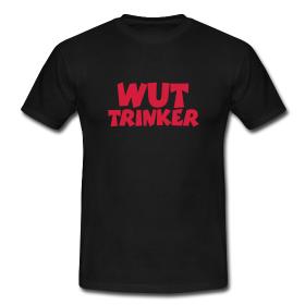 T-Shirts für wütende Trinker