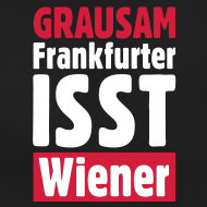 T-Shirts mit Schlagzeilen - Frankfurter isst Wiener