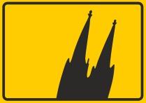 Köln Aufkleber, Köln Autoaufkleber, Köln Sticker