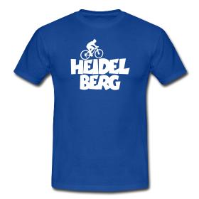 Heidelberg T-Shirts für Fahrradfahrer