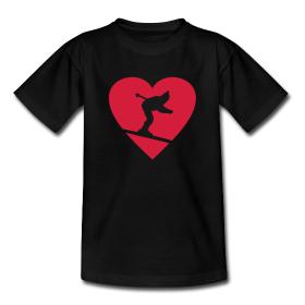 T-Shirts für Liebhaber und Liebhaberinnen des Skisports
