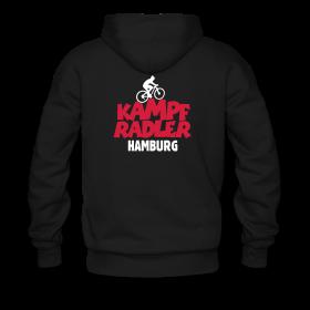 T-Shirts und Hoodies für Hamburger Kampfradler