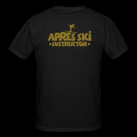 T-Shirts für Apres Ski Lehrer mit internationalem Touch