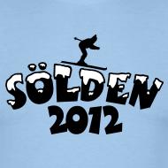 Sölden 2012 T-Shirts mit viel Schnee