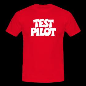 T-Shirts für Testpiloten