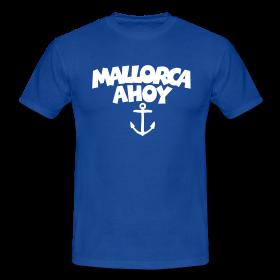 Mallorca Ahoy T-Shirts mit Anker