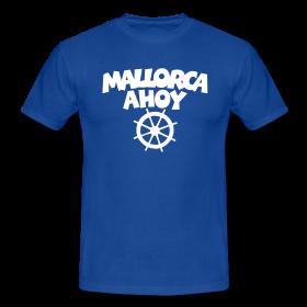 Mallorca Ahoy T-Shirts mit Steuerrad