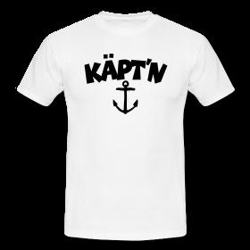 Segel T-Shirts für den Käpt'n