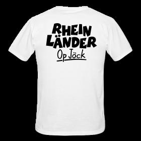 T-Shirts für Rheinländer op Jöck