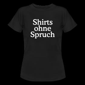 T-Shirts ohne Sprüche