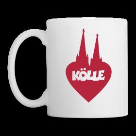 I love Kölle Kaffeebecher