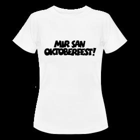 Oktoberfest T-Shirts für Damen