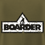 Boarder T-Shirts für Snowboarder