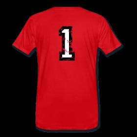 Nummer 1 T-Shirt mit der Zahl Eins