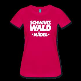 Schwarzwald Mädel T-Shirts für Schwarzwälderinnen