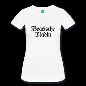 Boarische Madeln Damen Bayern T-Shirts