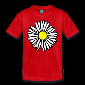 Gänseblümchen Blumen T-Shirts für Teenager