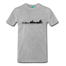 Rostock Skyline T-Shirts