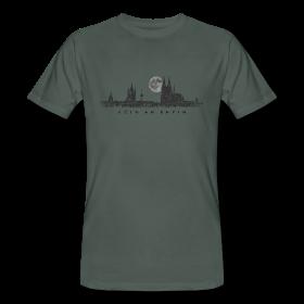 koeln skyline t-shirts mit vollmond