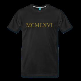 MCMLXVI 1966 Gold