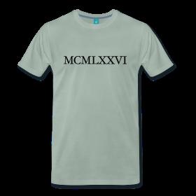 MCMLXXVI Jahrgang 1976 Geburtstag T-Shirt Römisch