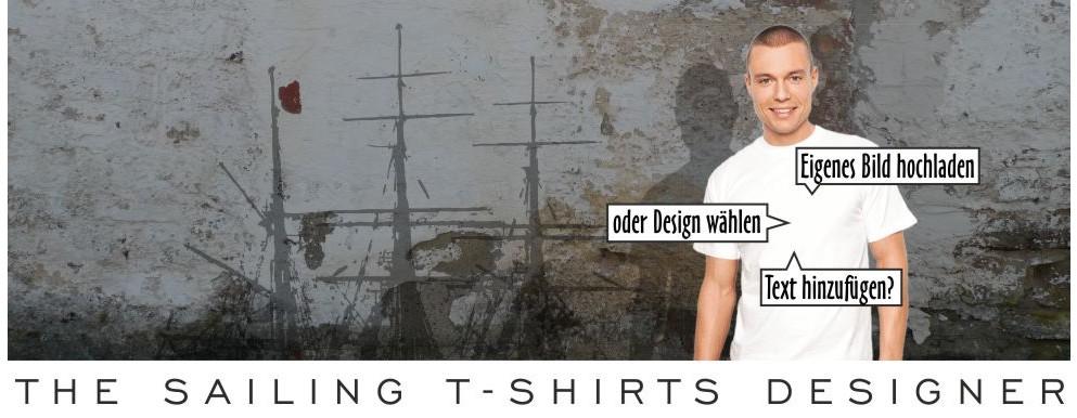 Der Segel T-Shirt Designer