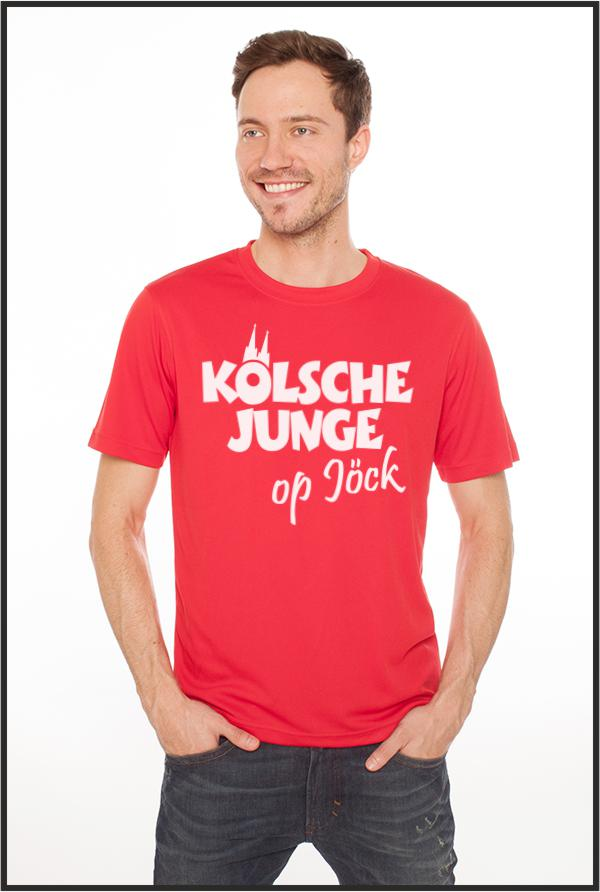Köln T-Shirts für Kölsche Junge op Jöck