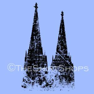 Kölner Dom Vintage Köln T-Shirts