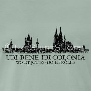 Kölner Skyline UBI BENE IBI COLONIA - Wo et jot es do es Kölle