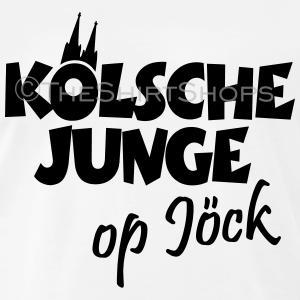 Kölsche Junge op Jöck T-Shirts