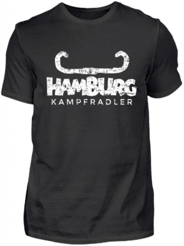 Hamburg Kampfradler T-Shirts für Hamburger Fahrradfahrer