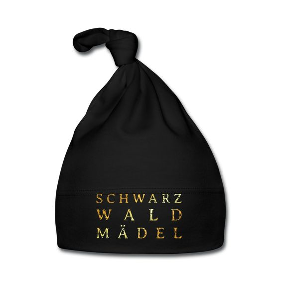 Schwarzwaldmädel Baby Mütze