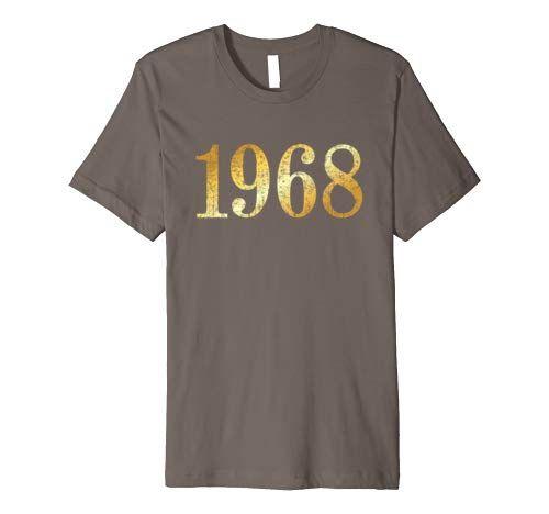 1968 Geburtstag T-Shirts, Geschenke und Geschenkideen.