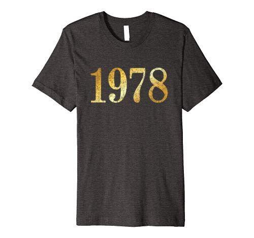 1978 Geburtstag T-Shirts und Geschenke