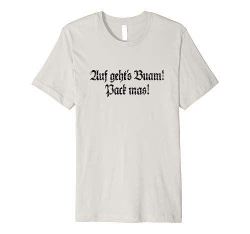 Bayern T-Shirts für zupackende Boarische Buam