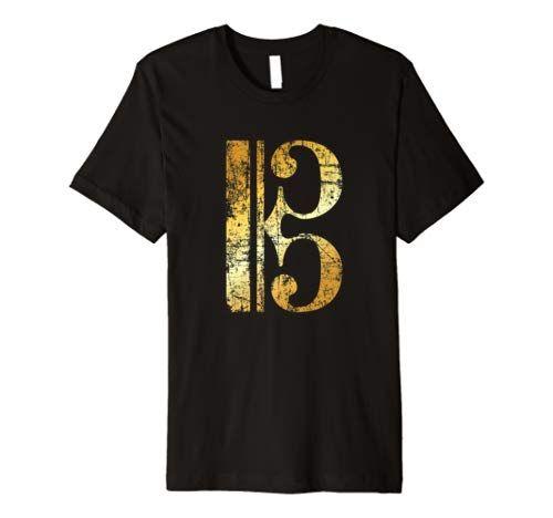 C-Schlüssel Musiker T-Shirt